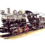 026 Morse 0-4-0 Switcher No.712