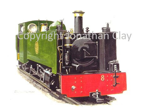 031 Bure Valley 2-6-4T No.8