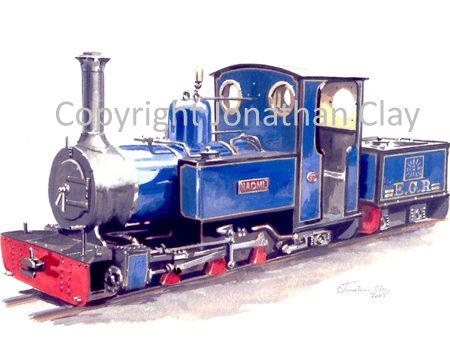 049 Exbury Gardens Railway 'Naomi'