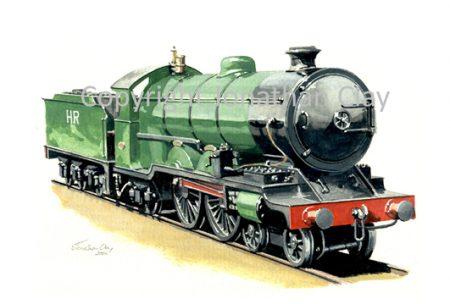 052 ex. Fairboune Railway Bassett- Lowke  Class 30 4-4-2 Count Louis