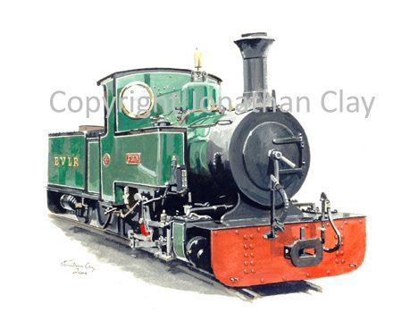 053 Evesham Vale Railway 0-4-0T+T St Egwin