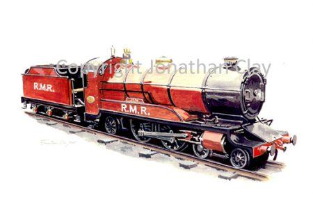 056 Rhyl Miniature Railway Barnes Atlantic Joan