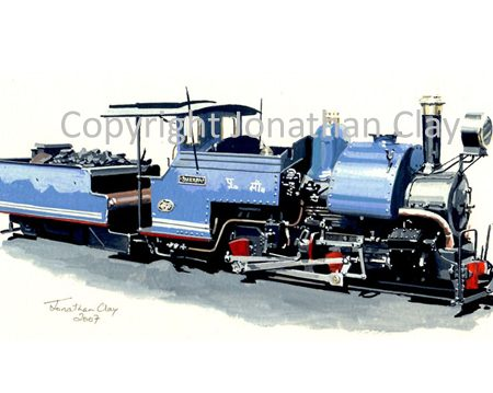 063 Milner Engineering 0-4-0ST+T Sherpa