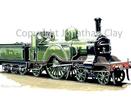066 Jaywick Miniature Railway Stirling  4-2-2 Single