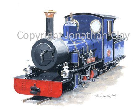 069 Exbury Gardens Railway 'Mariloo'