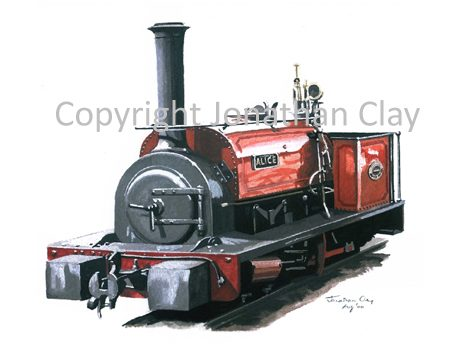 110 Bala Lake Railway ex.Dinorwic Quarries 0-4-0ST Alice