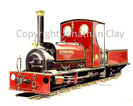 112 Launceston Steam Railway ex. Dinorwic Quarries 0-4-0ST Covertcoat