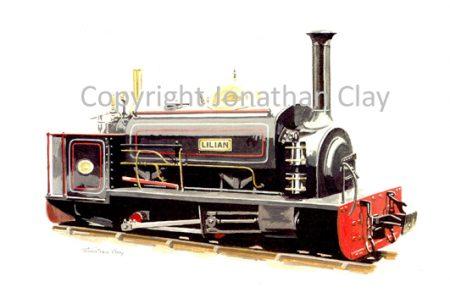 113 Launceston Steam Railway ex. Penrhyn Quarries 0-4-0ST Lilian