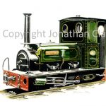 114 Launceston Steam Railway ex. Dorothea Quarries 0-4-0ST Dorothea