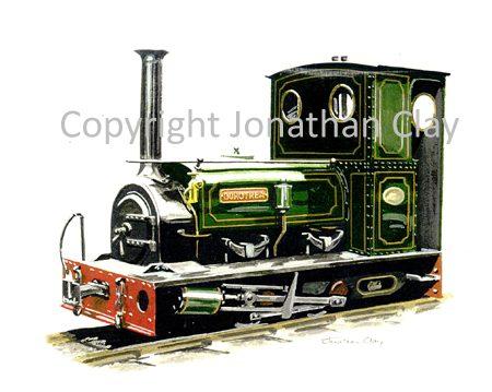 114 Launceston Steam Railway ex. Dorothea Quarries 0-4-0ST Dorothea