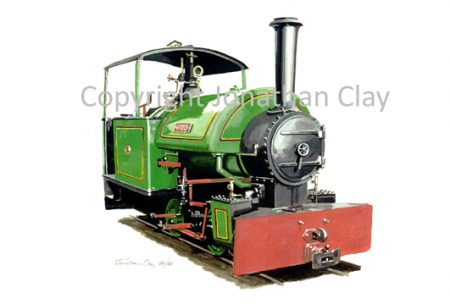 143 Alan Keefe Ltd. Bagnall 0-4-0ST Woto
