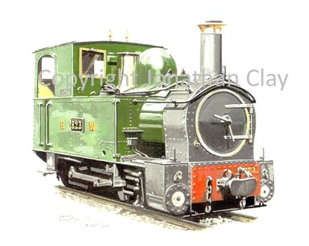 151 Beyer Peacock 0-6-0T No.823 Countess