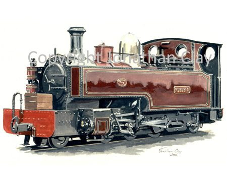 152 Hunslet 2-6-2T Russell (as built)