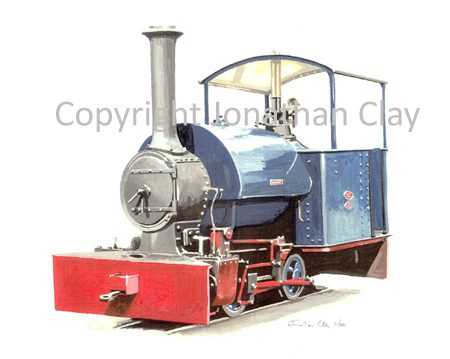 159 Hampshire NGRS Bagnall 0-4-0ST Wendy