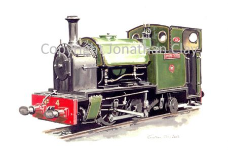 164 Kerr Stuart 0-4-2ST No.4 Edward Thomas