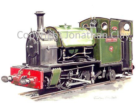 164 Kerr Stuart 0-4-2ST No.4 Edward Thomas