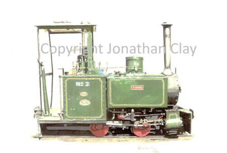 167 Leighton Buzzard Railway Baguley 0-4-0T  Rishra
