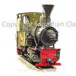 168 Leighton Buzzard Railway 0-4-0T Elf