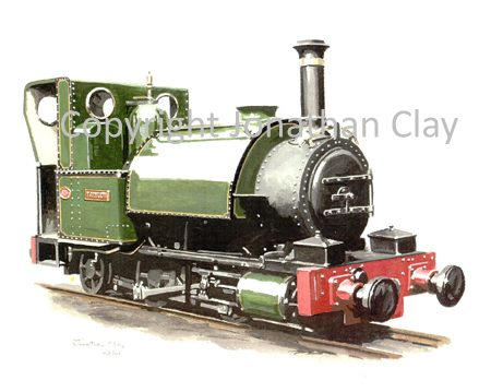 170 Fletcher Jennings 0-4-2ST No.1 Talyllyn (Green)