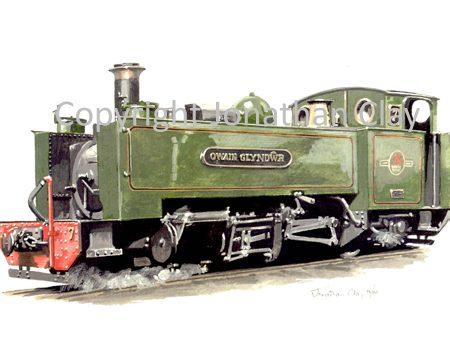 184 Vale of Rheidol Rly No.7 Owain Glyndwr (BR Green)