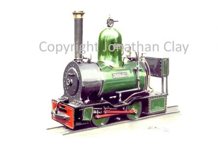 202 Beyer Peacock 0-4-0ST Works Shunter 'Dot'