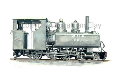 211 Baldwin 4-6-0T No. 590 (black)