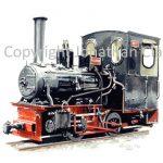 228 Leighton Buzzard Railway 0-4-0T P C Allen