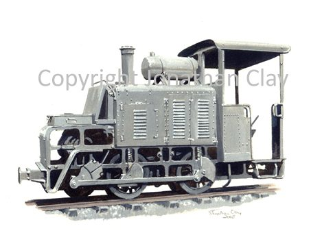 231 CFCD Baldwin 50hp 0-4-0PM