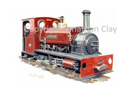 239 Dinorwic Quarries 0-4-0ST Cackler
