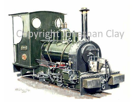 244 Sand Hutton Railway 0-4-0WT Esme