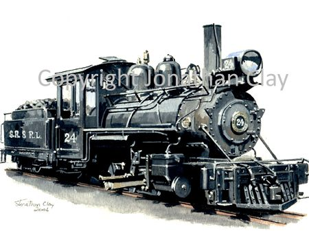 246 Sandy River 2-6-2 No.24
