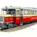 247 County Donegal Railway Walker Railcar No.12