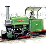 254 Hollycombe Woodland Railway Bagnall 0-4-0ST Pixie