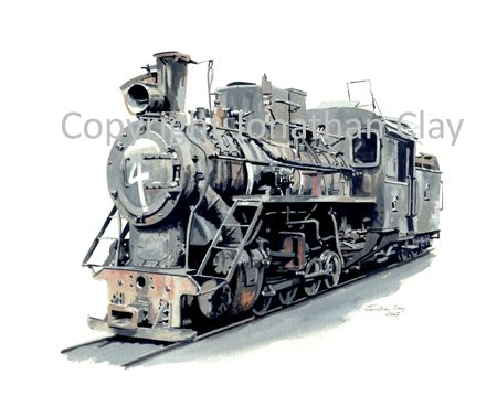 255 Chinese Class C2 0-8-0 No.4