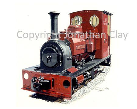 260 Statfold Barn Railway 0-4-0ST Statfold