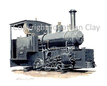 278 Ex WD G Class 0-6-0T No.107