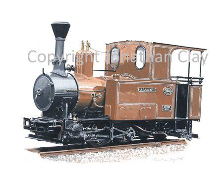 280 Statfold Barn Railway Krauss 0-4-2T Sragi No.1
