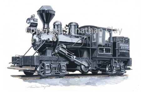 282 Hilton & Dodge Lumber Co. Climax Locomotive No.1