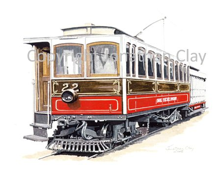283 Manx Electric Railway Car No.22