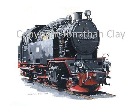 285 Harz Railway 2-6-2T No.99 6001-4