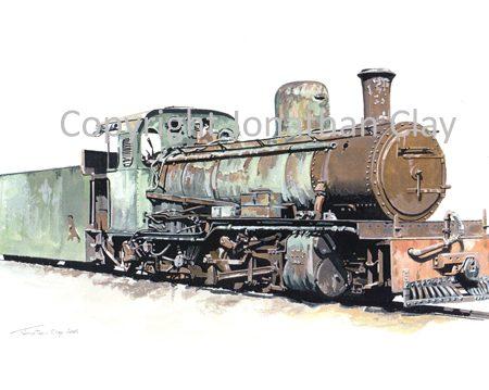 289 SAR Class NG15 2-8-2 (B)