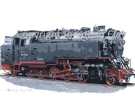 292 Harz Railway 2-10-2T No. 99 222