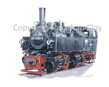 293 Harz Railway 0-4-4-0T Mallet No. 99 5906