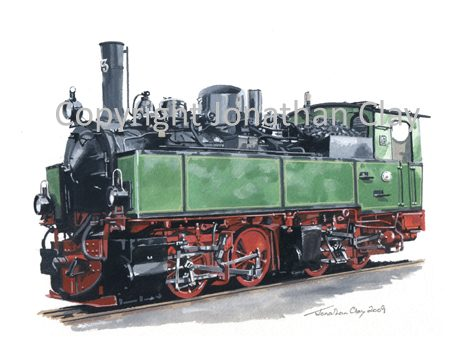 295 Harz Railway 0-4-4-0T Mallet No.13