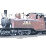 302 Single Fairlie 0-6-4T Moel Tryfan (1930s condition)