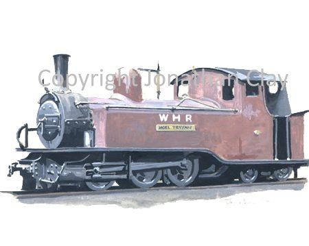 302 Single Fairlie 0-6-4T Moel Tryfan (1930s condition)