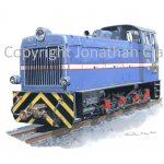 308 WHHR LYd2 Diesel No.60 Eryri