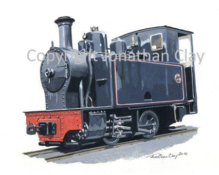 311 La Meuse 0-4-0T No.3355