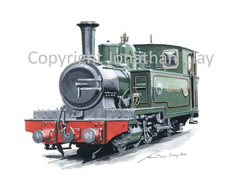 316 Andrew Barclay 0-6-2T Argyll