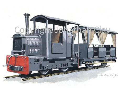 319 Oomas and Tabewa Railway Hudswell Clarkw 20hp IC Locomotive